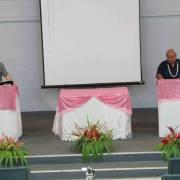 Ron Colemon (Keynote Speaker) Tia Misa (Keynote Translator)